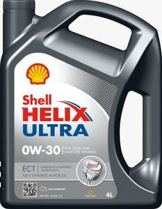 Engine Oil HELIX ULTRA ECT 0W30 5 litres £29.98 plus £3.95 del or free del with spend of £39 MisterAuto