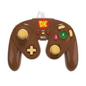 Donkey Kong & Wario theme PDP Wii U Controllers, £13.99 each @ 365games (inc Free Delivery) OR buy both for £24.63 from Amazon.Fr