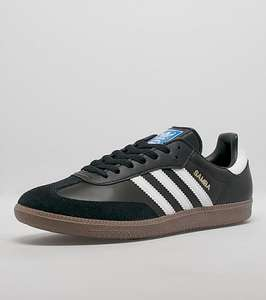 Adidas Originals Samba leather black - £31.50 delivered with code - Scorpion Shoes
