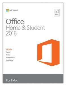Microsoft Office Home & Student 2016 (PC/Mac - Medialess) £24.98 @ CompAdvance