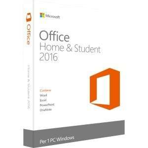 Microsoft Office Home & Student 2016 (medialess PC/Mac-English) £10.33 + delivery @ Kingsfield Computer