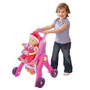 V Tech Little Love 3-in-1 Pushchair £14.99 @ ToysRus (FREE C&C)