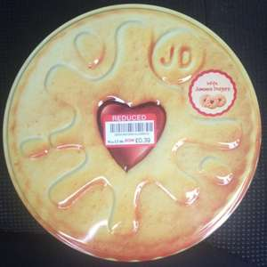 Tin Jammie Dodgers reduced from £3 to 39p (plus other final xmas reductions) @ Waitrose (Bromley)