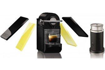 Krups Nespresso Pixie Clips Coffee Maker & Aeroccino Black XN303040 £104 @ Go-electrical