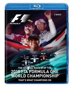 2015 Formula one Review Blu Ray £16.99 @ Dukevideo.com