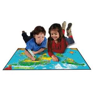LeapFrog Interactive World Map @ Smyths Toys - Was £16.99 Now £7.49
