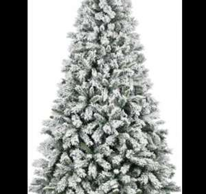 7ft Green Snowstorm Christmas Tree £35 @ Homebase