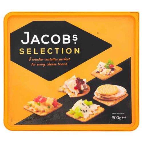 Jacobs crackers 900g box £2.50 at Sainsbury's
