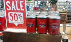 Yankee Candles (566g) North Pole Magic reduced to £5.99 @ DOBBIES INSTORE ONLY