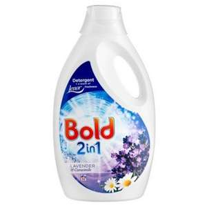 Bold 60 washes £6 when you spend a pound in Poundland
