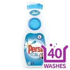 Persil small and mighty Bio and non Bio (40 washes) half price £5.00 @ Tesco