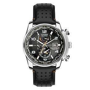 Citizen Eco-Drive men's stainless steel black strap radio-control watch £170 (save £179) @ Ernest Jones