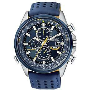 Citizen Eco-Drive Blue Angels men's strap watch radio-controlled £180 (save £189 was £369) @ Ernest Jones