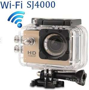 WiFi SJ4000 Waterproof Camera half price £26.51 from EUBanggood.com NOT SJCAM