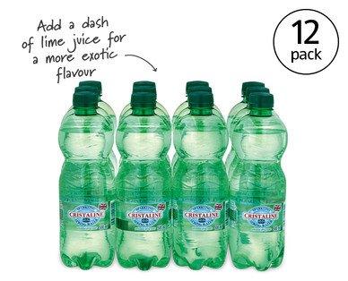 Sparkling Water 12 x 500ml £1.89 @ ALDI