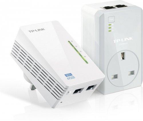 TP Link TL-WPA4226KIT wifi range extender, powerline adapter and through power socket. £35.99 @ amazon uk