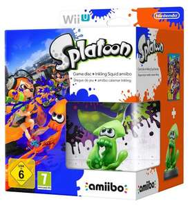 [Wii U] Splatoon Plus amiibo Squid Bundle - £30.13 Delivered (£28.91 Euro) - Amazon.de
