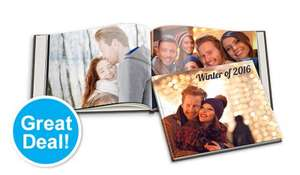 100 page L Photo Book Photo Cover £19 inc P&P Bonusprint