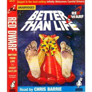 Red Dwarf: Better Than Life Audiobook | Grant Naylor £1.99  Audible.co.uk