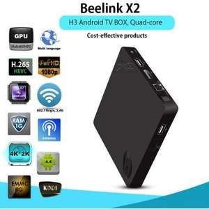 Beelink X2 H3 Quad Core 1GB/8GB 4K 1080P Android TV Box £19.52 @ Gearbest