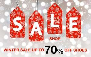 Up to 70% Off Winter Sale + Free delivery until midnight with code at Barratts