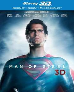 Man of Steel [Blu-ray 3D + Blu-ray] [2013] £3.99 in store @ That's Entertainment
