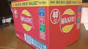 40 Walkers Crisps Variety Box £3.95 @ Farmfoods