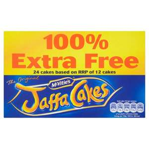 McVities Jaffa Cakes 24 Pack 62p @ One Stop