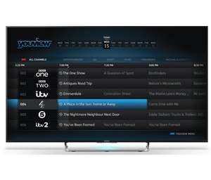 SONY BRAVIA KDL50W805C 50 inch 3D Smart LED Android TV 1080p HD Youview - £549 Richer Sounds