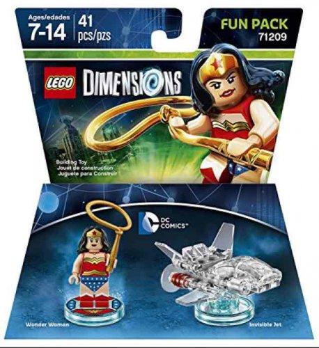 LEGO Dimensions: Fun Pack - DC Wonder Woman £9.99  (Prime) / £11.98 (non Prime) @ Amazon