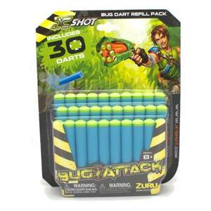 30 x XSHOT spare darts (they work in the NERF guns) £2.00 @ Tesco Direct
