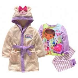 Doc McStuffins Girls' Pyjamas and Matching Dressing Gown Set now £12.99 at Argos