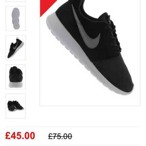 Nike Roshe one mens £45 + £3 delivery  @ lifestylesports
