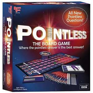Up to 70% off board games @ Debenhams (e.g. Pointless £8.10)