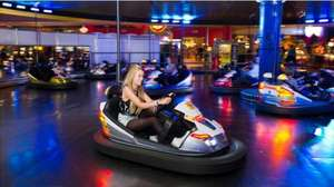 """Namco Funscape January Special £9 offer with key103 offers (from £44.95) inc 10"""" pizza of your choice / 12 gaming tokens / 8 dodgem rides (event city / Trafford centre / Manchester)"""