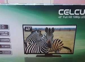"celcus 40"" full HD 1080p led TV £150 @ Sainsbury's instore"