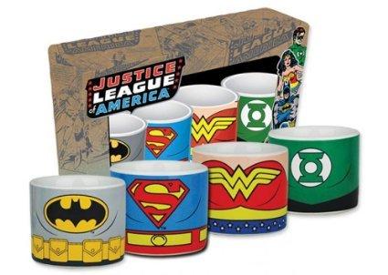 DC Comics Justice league set of 4 egg cups £3.60 @ Debenhams (FREE C&C)