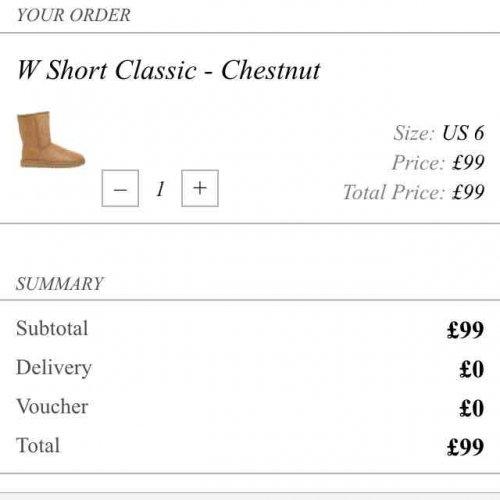 ugg boots £99 at Cocosa