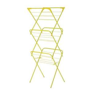 Lime Slim 3 Tier Airer £7.99 at Dunelm 4 colours