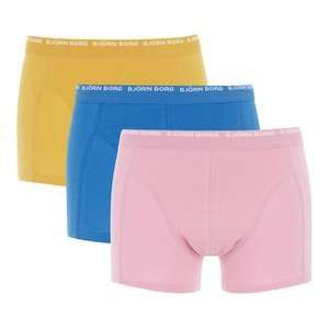 Bjorn Borg boxers (3 pack) £14.98 delivered from the hut.