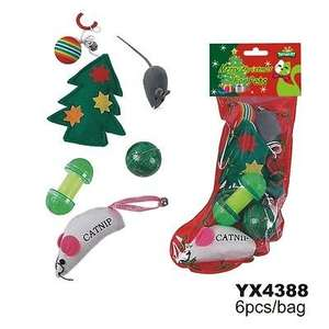 Pet  toy stockings for cats and dogs 50p @ 99p Stores