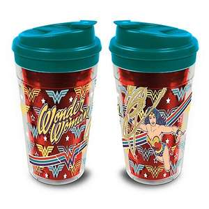 DC Comics Wonder Woman travel mug £3  @ Debenhams (free click & collect)