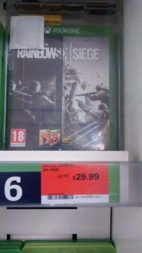 Rainbow Six Siege Xbox One £29.99 at Sainsbury's