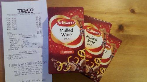 Price Glitch 20p instead of £1.40 Mulled Wine spice - Tesco (Stourbridge)