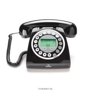 Optimum Black Retro Home Phone £7.99 @ B&M