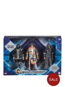 Doctor who 4th doctor three figure set £12 @ Very