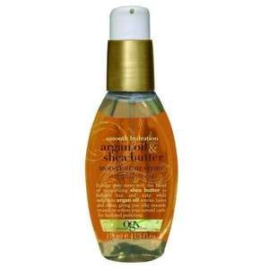 OGX Smooth Argan Oil & Shea Butter Moisture Restore weightless oil 118ml £4.66 @ Superdrug