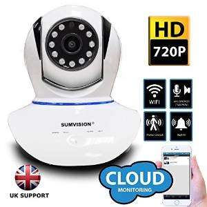 Sumvision® Oracle Wireless 720P IP Camera H.264 HD  Hi Definition Pan, Android Smartphone viewing £38.99 @ Amazon sold by Bluestone Online