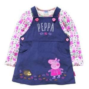 Peppa Pig Girls' Top, Dress and Tights down to £7.49 @ Argos