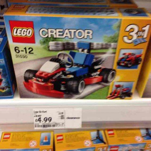 Lego Go-Kart (31030) £4.99 Asda in-store